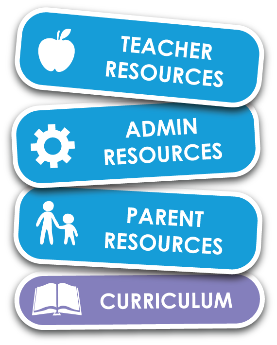 New Resources Button for Parents, Teachers, and Administrators