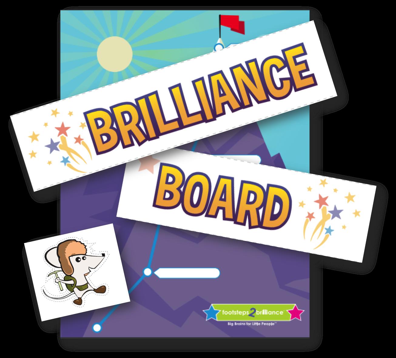 New Brilliance Board Artwork in Teacher Toolkits