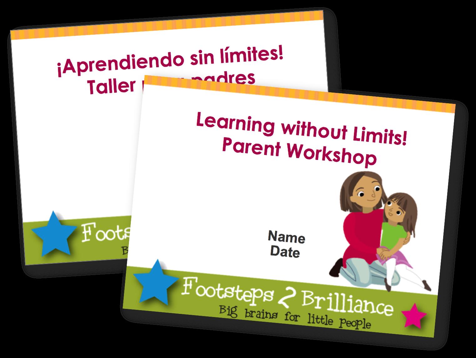 Parent Workshop Tools in Toolkits