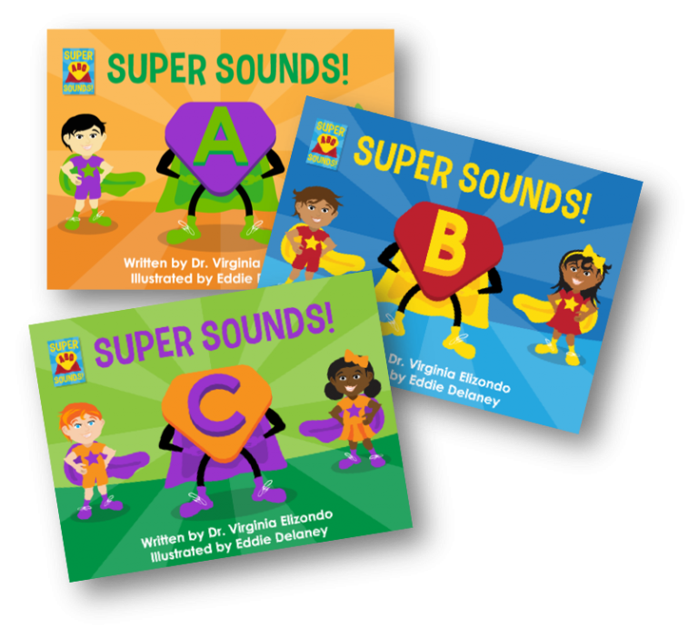Super Sounds Phonics Book Covers